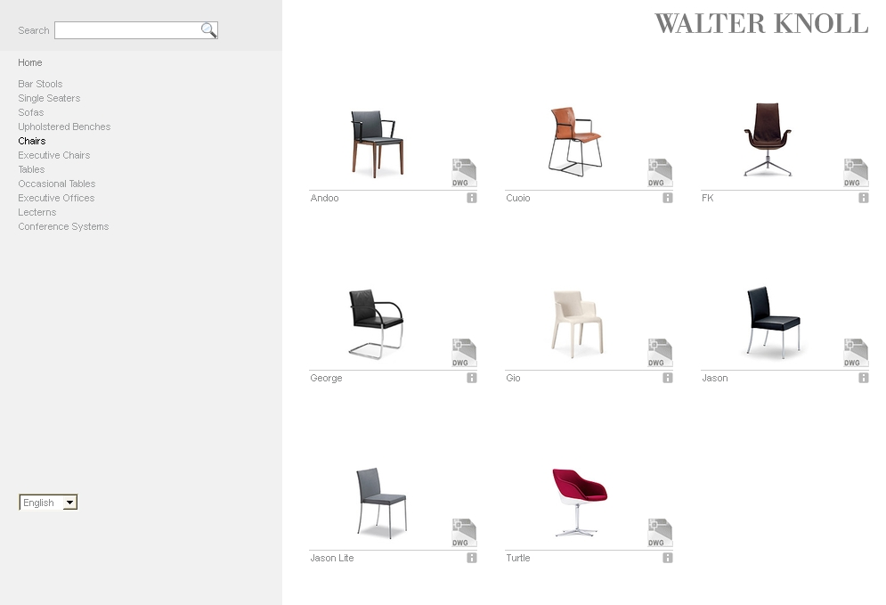 Walter Knoll opens online catalog