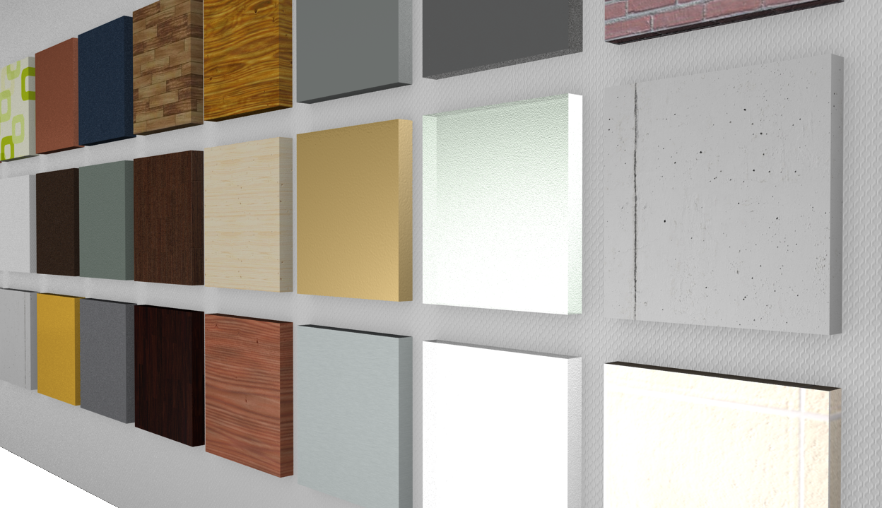 A new look for the world of materials pcon blog - Materials of interior design ...
