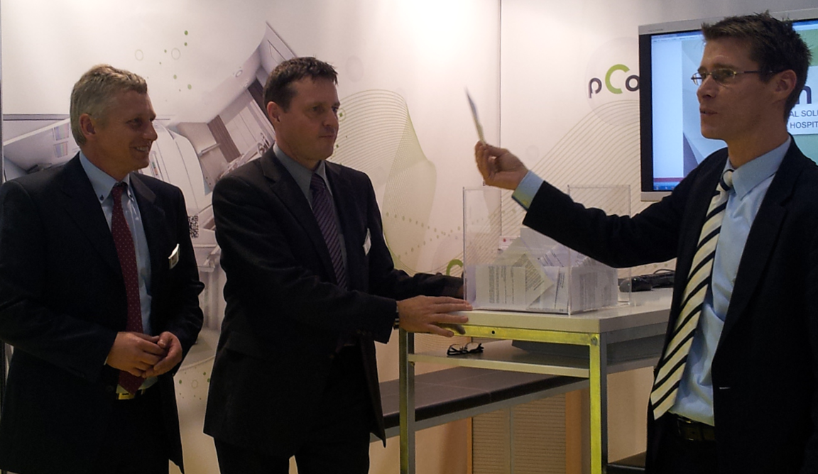 pCon Technology Amazes Visitors at MEDICA