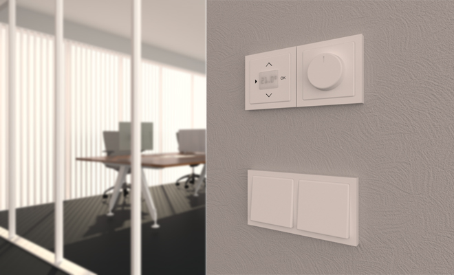You can find light switches and outlets in the new catalog for Wall Objects