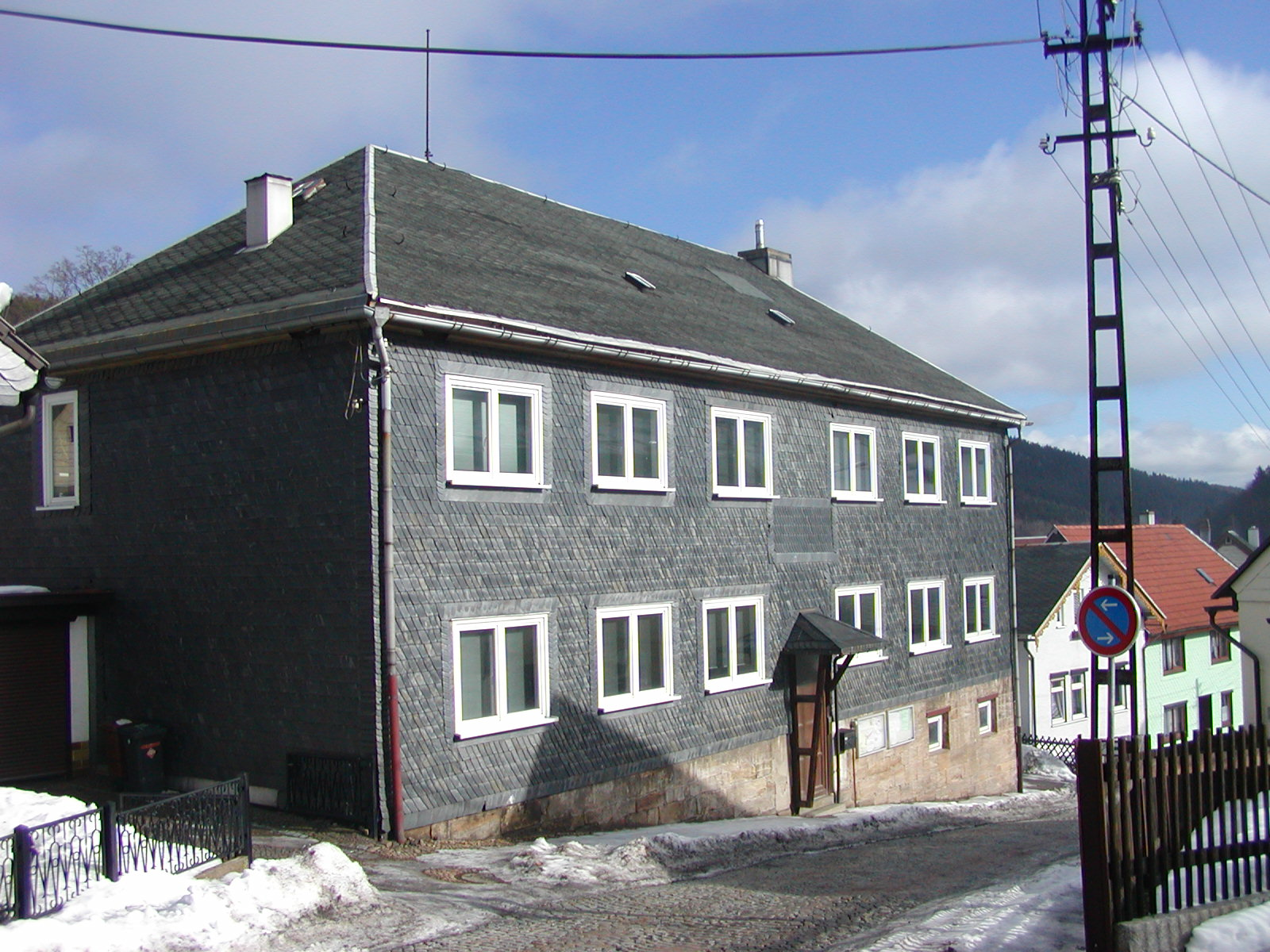 EasternGraphics GmbH - Our building in Manebach