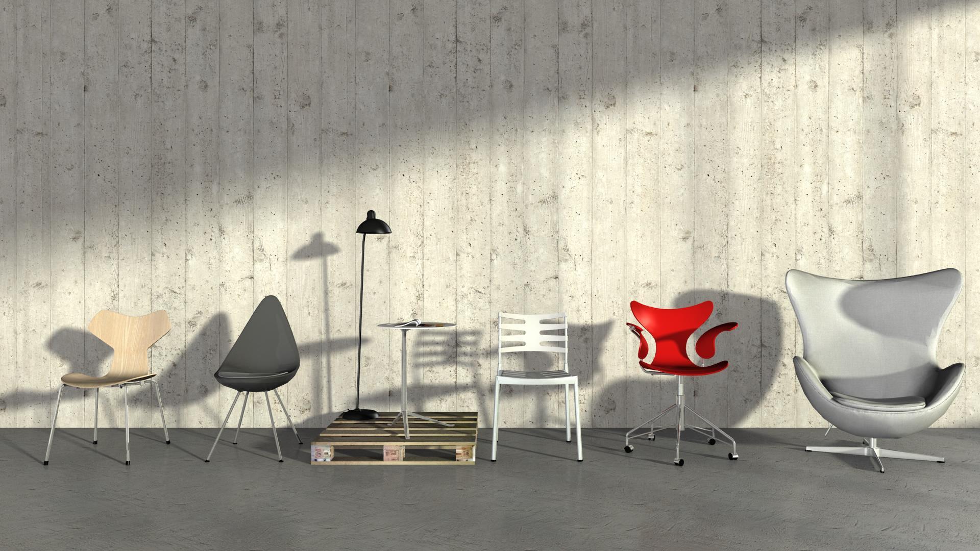 Iconic Designs by Fritz Hansen