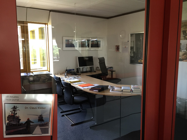 Office in the ZDF Building
