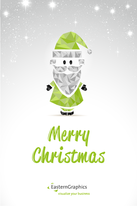 Merry Christmas from EasternGraphics! holiday EasternGraphics Christmas