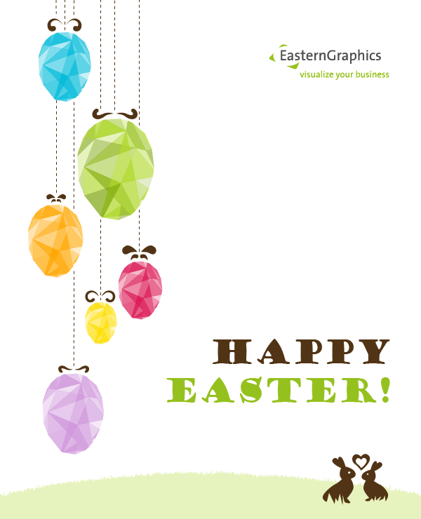 Happy Easter from EasternGraphics holiday EasternGraphics Easter