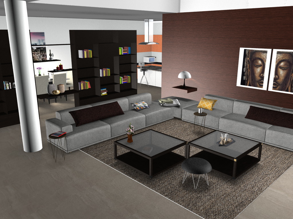 Skewed Renderings? Give the Architect Camera Type a Try YafaRay render settings pCon.planner
