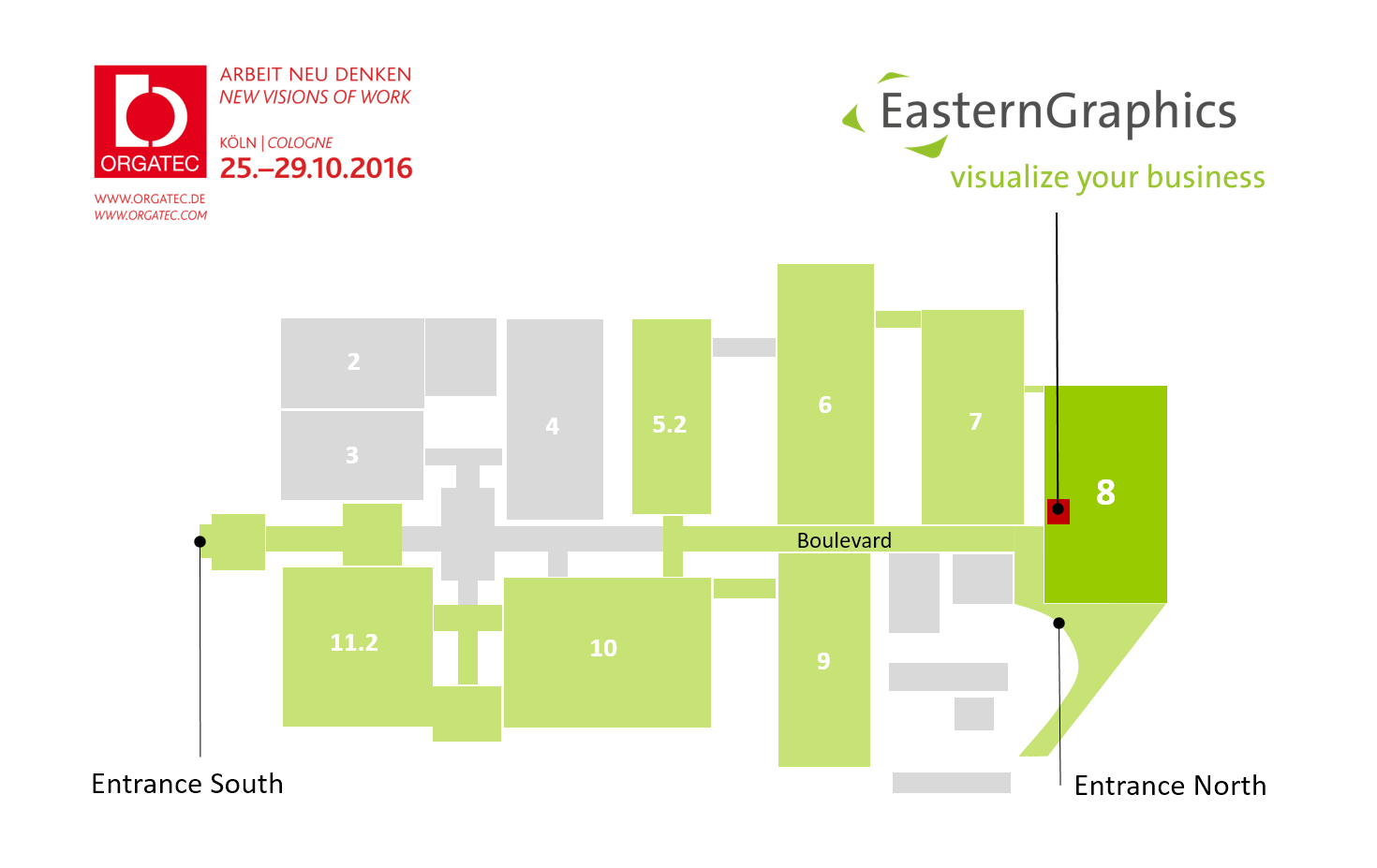 The Countdown to ORGATEC Begins! event EasternGraphics