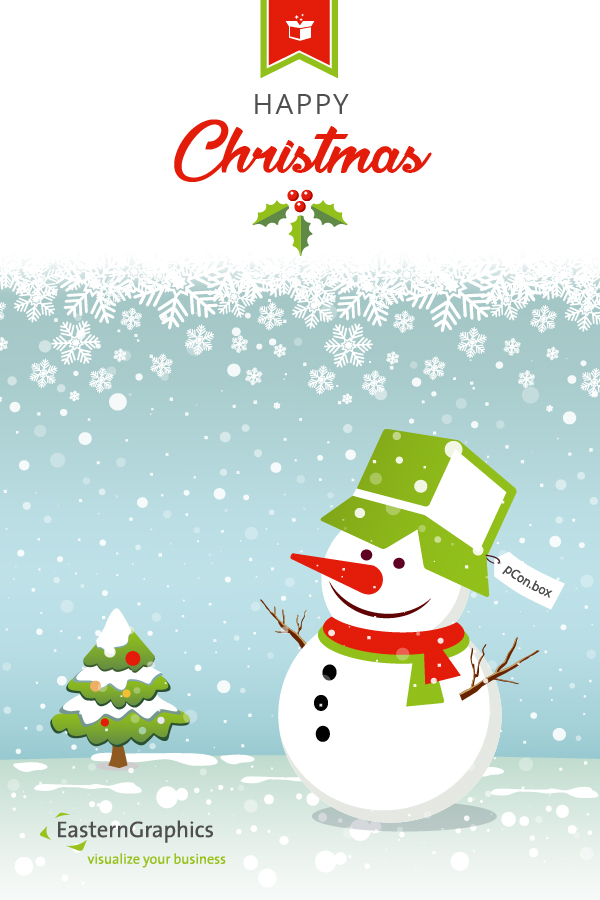 Merry Christmas from your EasternGraphics Team! holiday