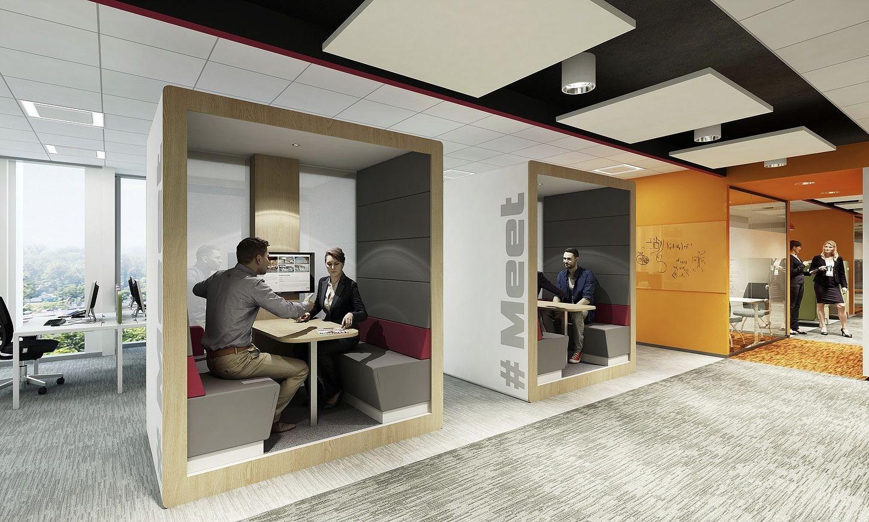Millenials' Office Trends - Meeting Pods