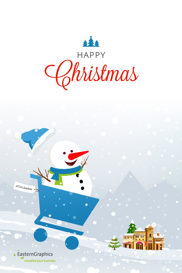Season Greetings from your EasternGraphics Team! holiday
