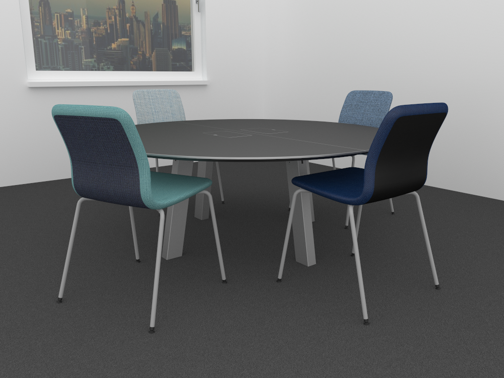 Configurable chairs from EFG