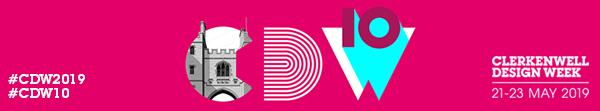 Visit us at Clerkenwell Design Week 2019