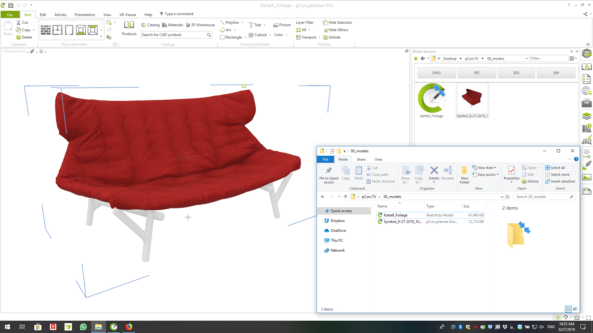 Reduce file sizes with pCon.planner – 3 tips for 3D models reduce file size Purge 3D models