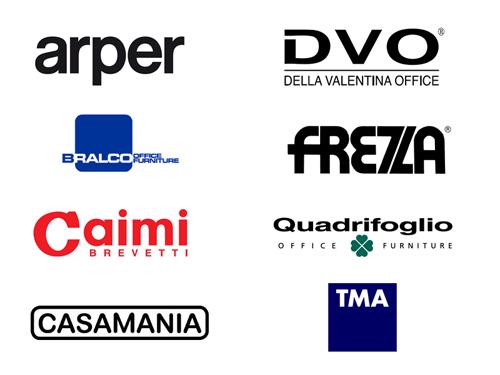 Arper, Bralco, Caimi, Casamania, DVO, Frezza, Quadrifoglio, TMA, pCon.planner, EasternGraphics