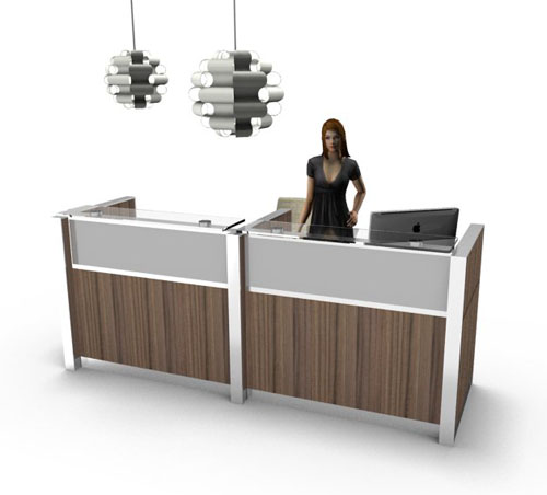 Della Valentina Office renderizado hecho en pCon.planner