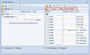 pCon.planner 6.4.1 - Nuevo gestor de carpetas
