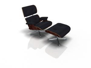 Render silla Eames creado con pCon.planner