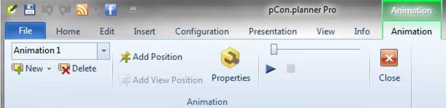 pCon.planner 6.5 - Animacion