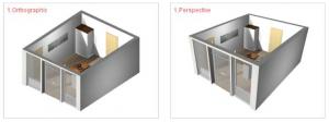 pCon.planner 6.5 - Vista Ortografica