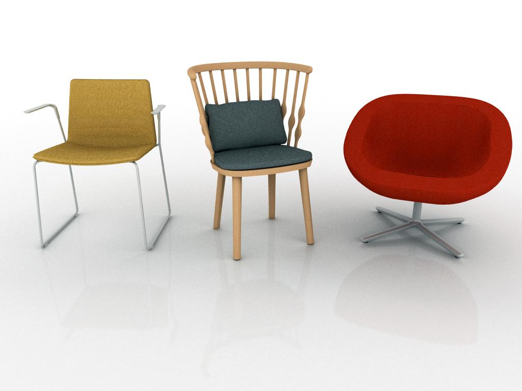 Andreu World se une a pCon sillas configuracion Andreu World