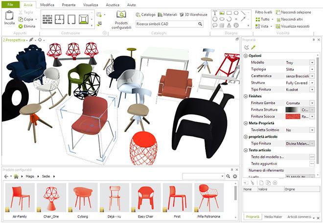 Magis enriquece la red pCon pCon muebles Magis 3D