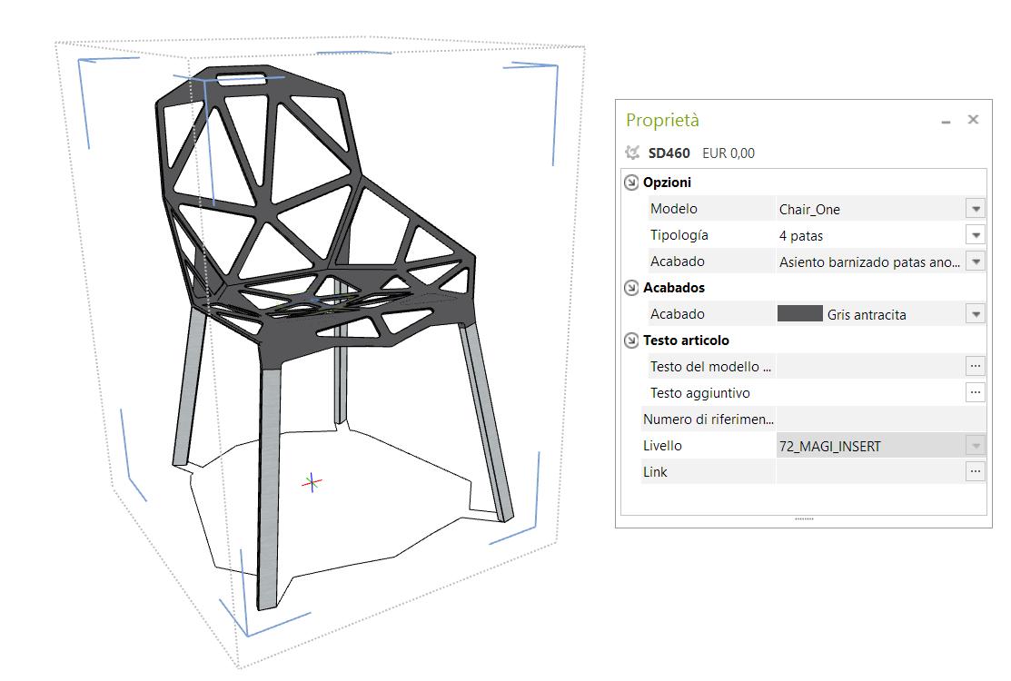 [Actualización] Datos configurables Magis pCon Magis 3D
