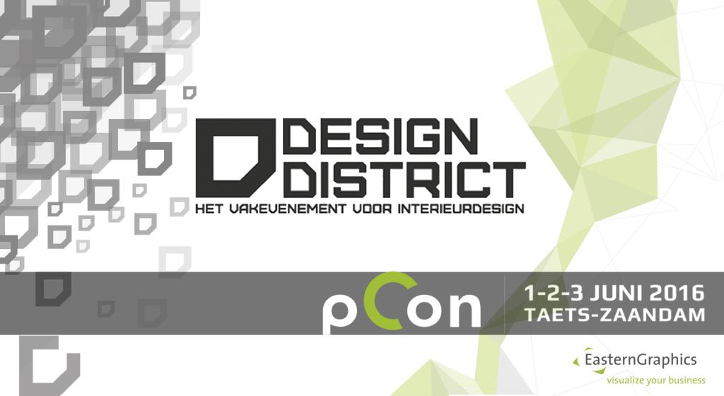 EasternGraphics en el Zaandam Design District 2016 pCon.planner eventos EasternGraphics Design District