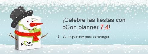 La Navidad llegó temprano con pCon.planner 7.4! pCon.planner 7.4