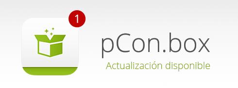 ¡App actualizada! Nueva versión de pCon.box disponible pCon.box actualización