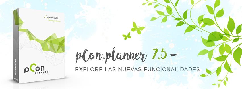 ¡pCon.planner 7.5 ya está disponible! pCon.planner actualización