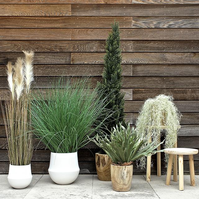 Añada un toque de verde a sus proyectos con las plantas artificiales de Tanaman pCon.catalog diseño de interiores