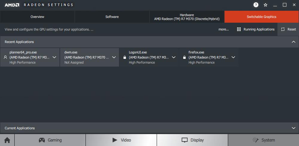 Cómo resolver problemas de visualización y rendimiento de pCon.planner con los gráficos de NVidia o la tarjeta de video AMD