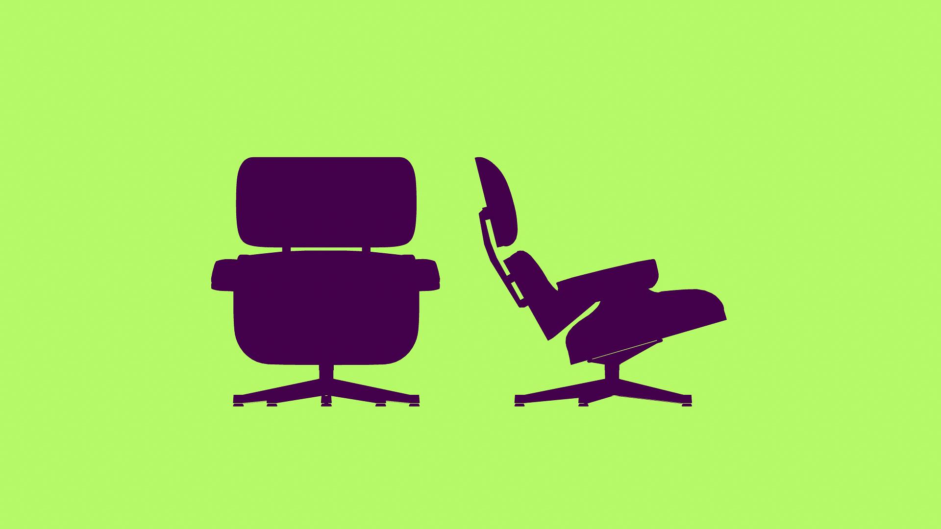 Silhouette: Eames Chair