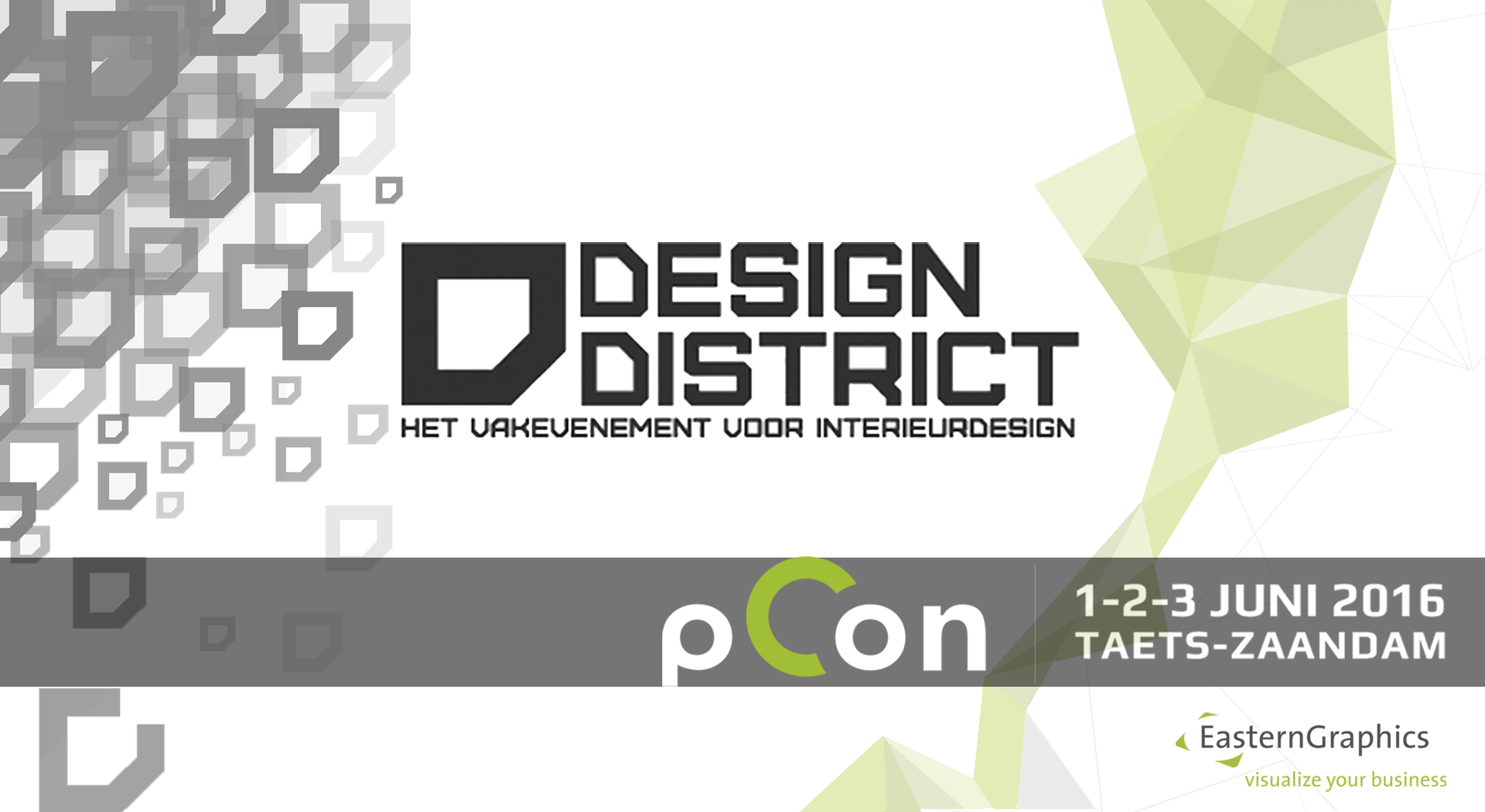 EasternGraphics at the Design District Zaandam 2016 pCon.planner events EasternGraphics Design District