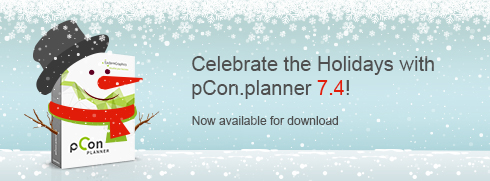 Christmas Comes Early with pCon.planner 7.4! release pCon.planner features