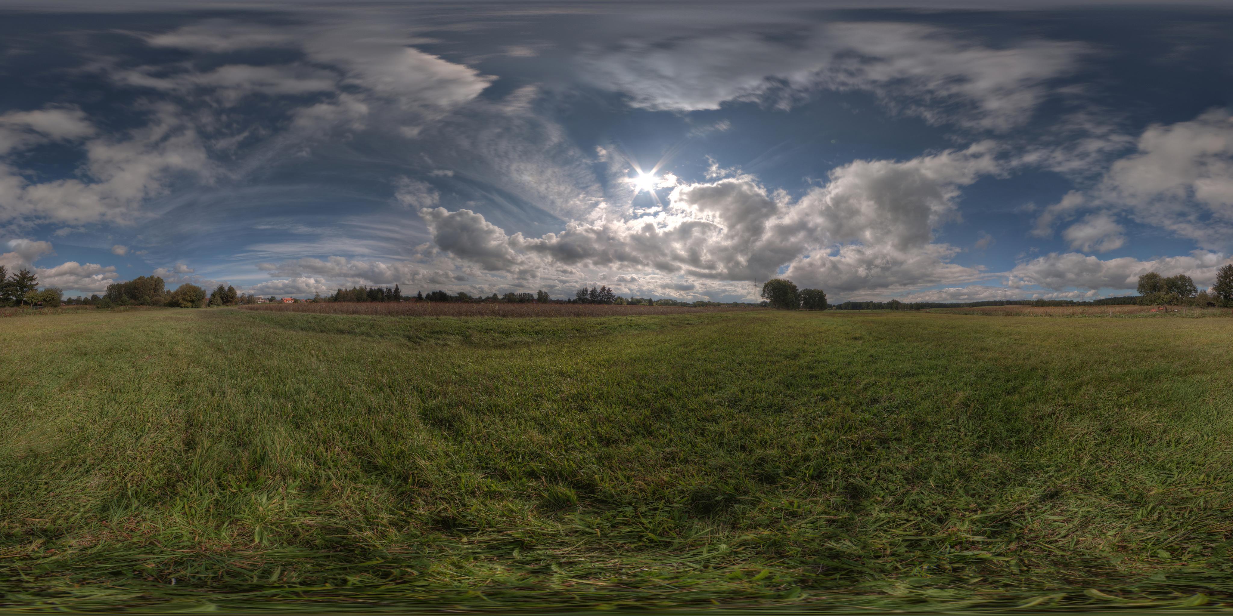 Image HDR en tant que source lumineuse – Rendus atmosphériques