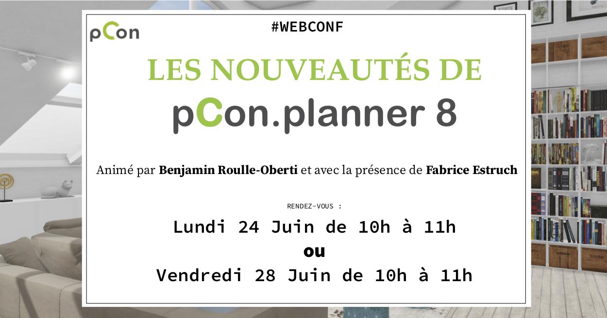 Webconférence : Les nouveautés de pCon.planner 8