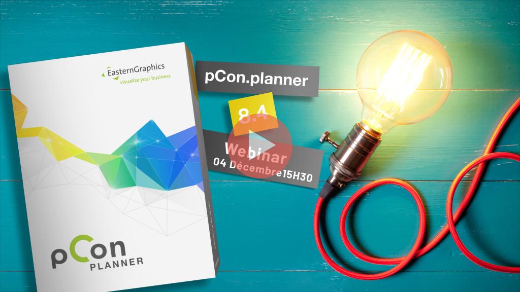 Boîte du logiciel pCon.planner version 8.4