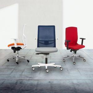 3 chaises de bureau