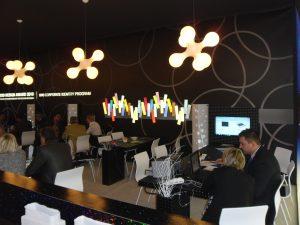 Presentazione pCon.planner nello stand Della Valentina Office