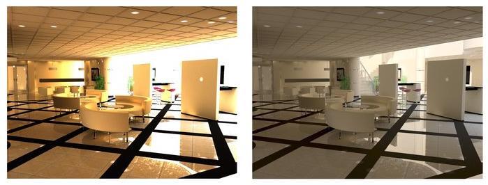 Creazioni di immagini HDR (High Dynamic Range) o immagini ad alto contrasto in pCon.planner