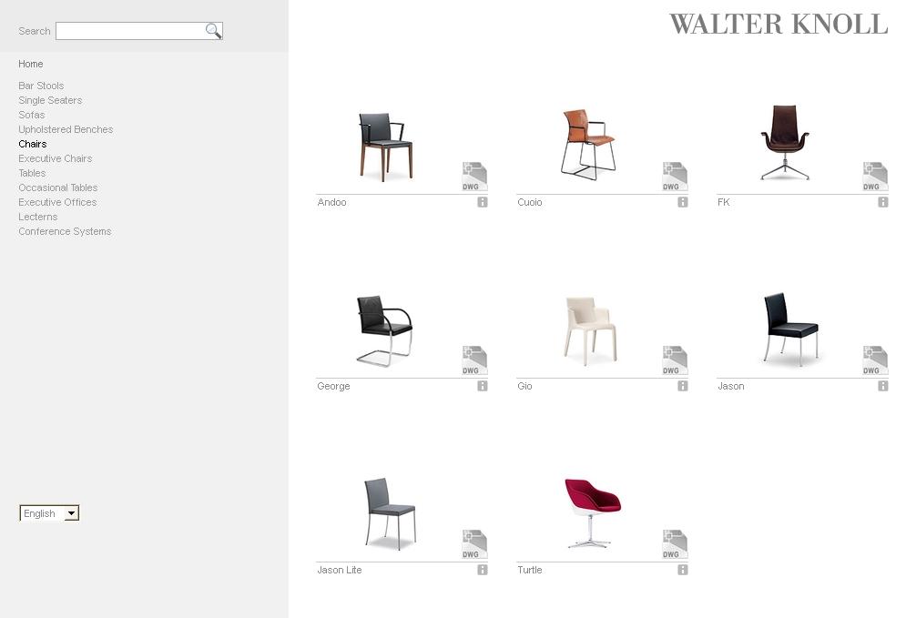 Walter Knoll opens online catalog