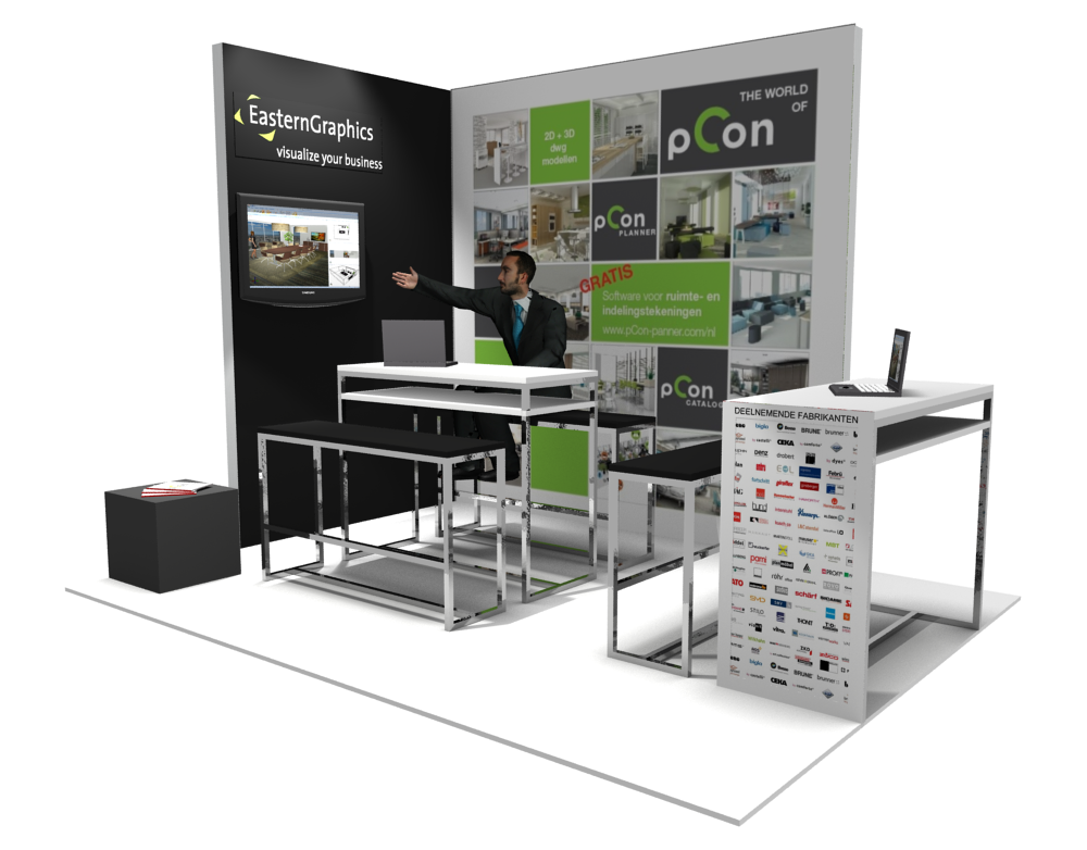 Stand Design District EasternGraphics pCon.planner
