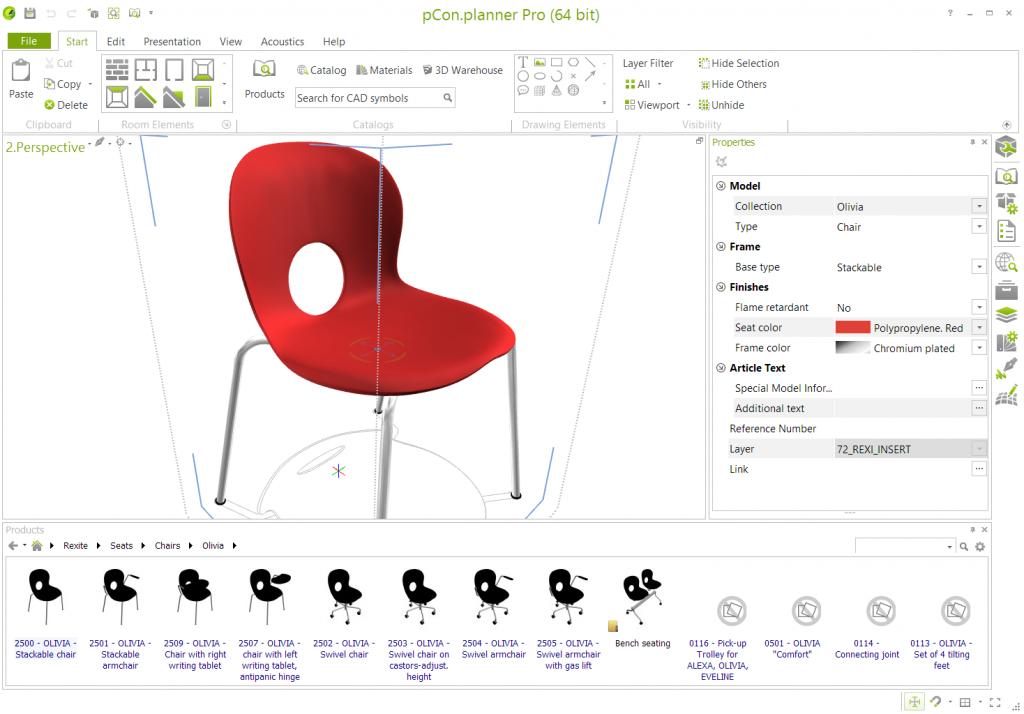 Dati Rexite in pCon Rexite pCon OFML modelli CAD