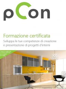 Formazione certificata progettazione dinterni uffici pCon.planner living interior design formazione cucina arredamento