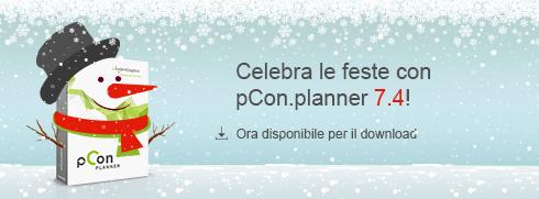 Il Natale è arrivato in anticipo con pCon.planner 7.4! pCon.planner 7.4