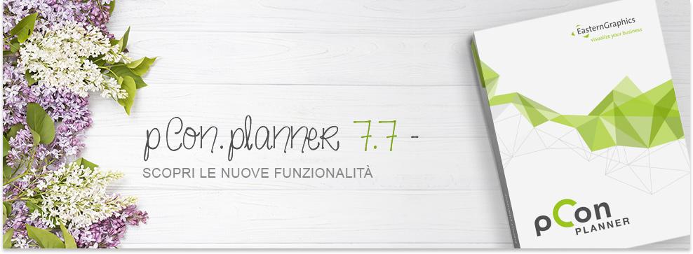 pCon.planner 7.7 ora disponibile! pCon.planner 7.7