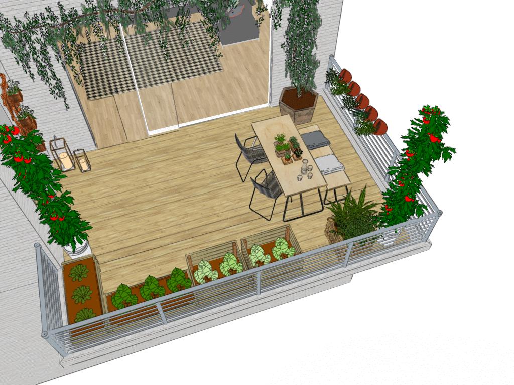 Idee per Balconi e Terrazzi