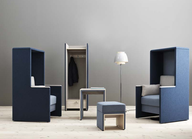 Vaarwel geluidshinder, hallo Glimakra! Zweedse meubelfabrikant pCon.planner pCon.catalog Glimakra geluidreducerende meubels CAD modellen