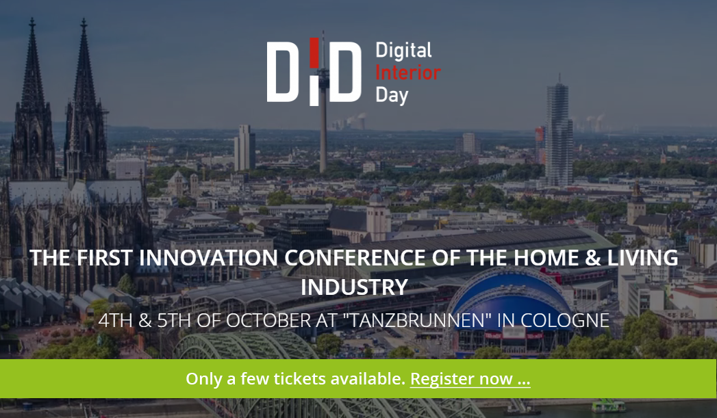 Digital Interior Day – Innovation Conference of the Home & Living Industry Home & Living DID